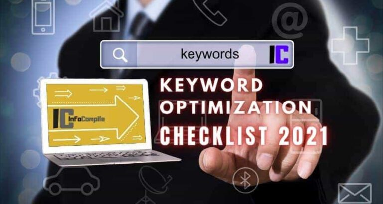 Keyword Optimization Checklist 2021