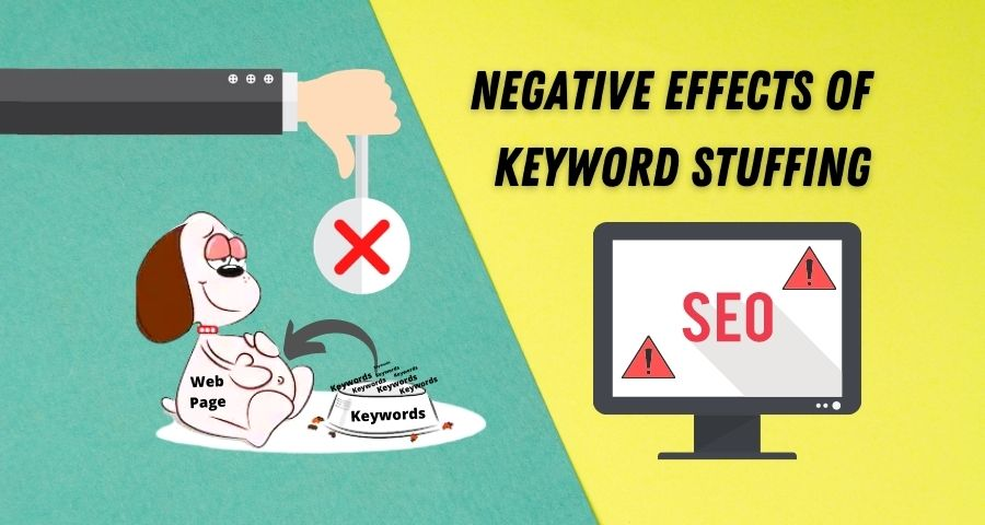 Negative effects of Keyword Stuffing | Dangerous for SEO