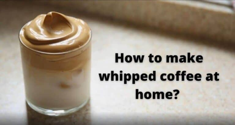 How to make whipped coffee? Whipped coffee Recipe