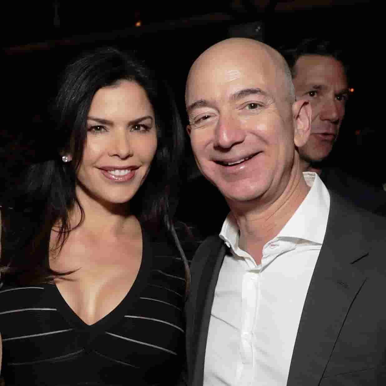 Lauren Sanchez and Jeff Bezos