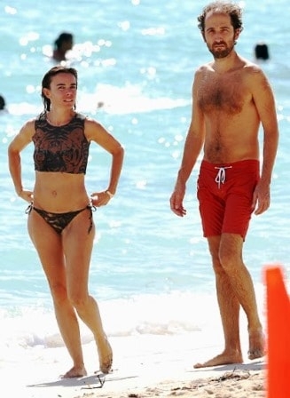 Thomas Bangalter With his Stunning Wife
