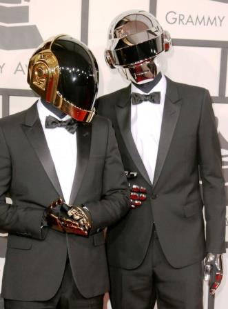 Daft Punk at Grammy awards