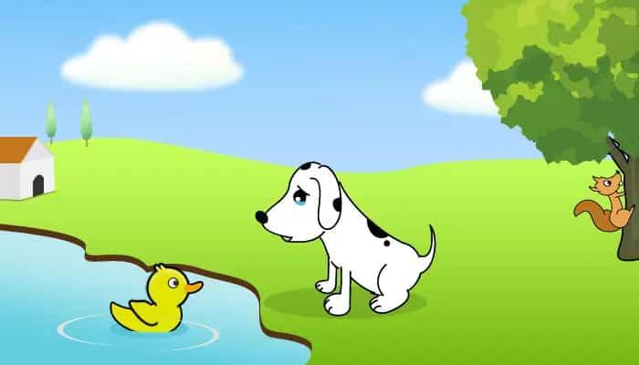 The terrified dog Mr Kutta Ji - Kids Stories